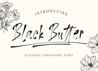 Black Butter Font