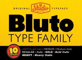 Bluto Font