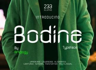 Bodine Font