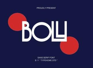 Bolli Font