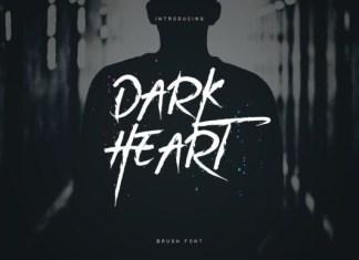 Dark Heart Font