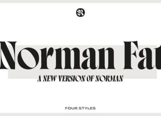 Norman Fat Font