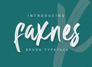 Faknes Font