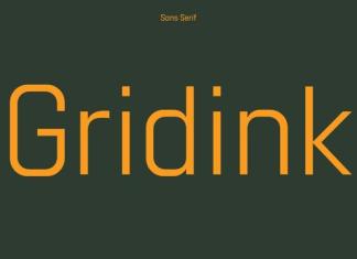 Gridink Font