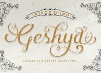 Geshya Font