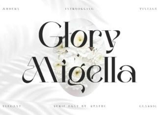 Glory Migella Font