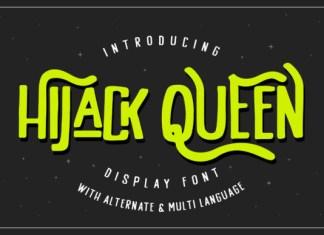 HiJack Queen Font