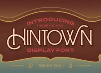 Hintown Font