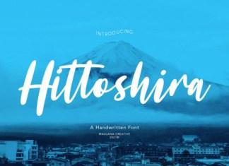 Hittoshira Font