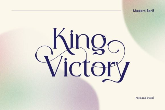 King Victory Font