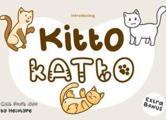 Kitto Katto Font