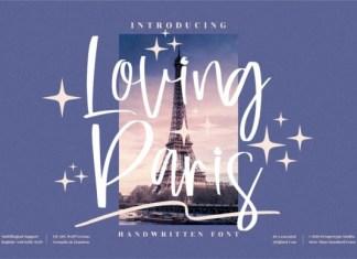 Loving Paris Font