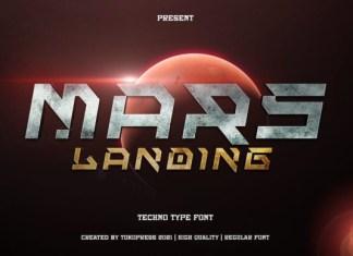 Mars Landing Font