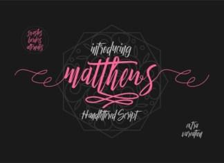 Matthews Font