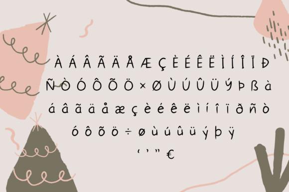Messy Sketch Font
