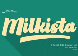 Milkista Font