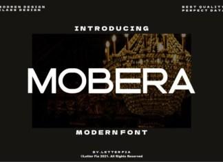 Mobera Font
