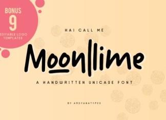 Moonlime Font