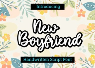 New Boyfriend Font