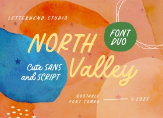 North Valley Font