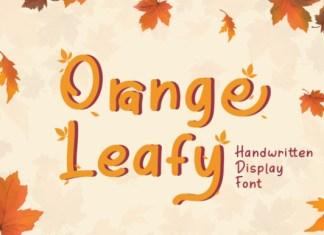Orange Leafy