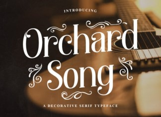 Orchard Song Font