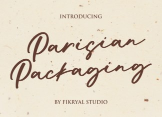 Parisian Packaging Font