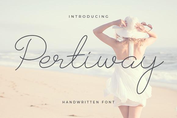 Pertiway Font