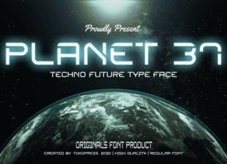 Planet 37 Font