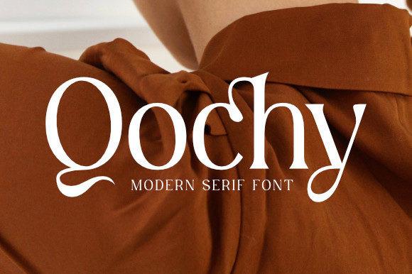 Qochy Font
