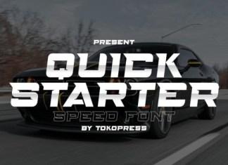 Quickstarter Font