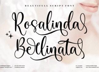 Rosalinda Berlinata Font