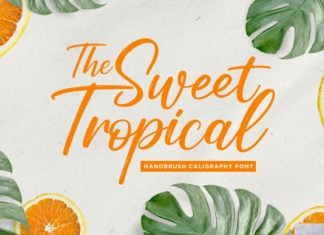 Sweet Tropical Font