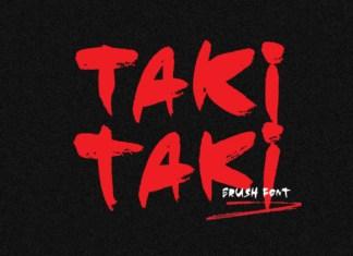 Taki Taki Font