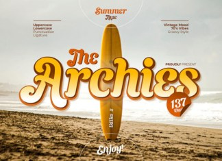 The Archies Font