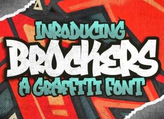 Brockers Urban Font