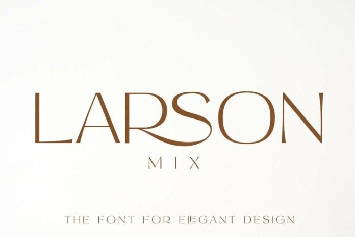 Larson Mix Font