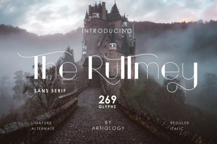 The Ruttmey Font
