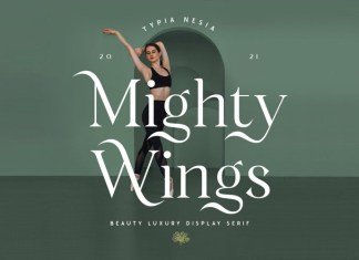 Mighty Wings Font