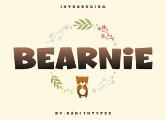 Bearnie Font