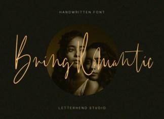 Bring Romantic Font