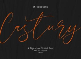 Castury Font