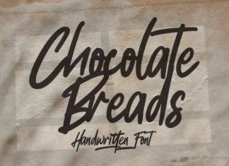Chocolate Breads Font