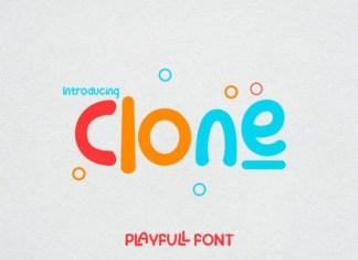 Clone Font