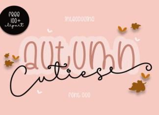 Cuties Autumn Font