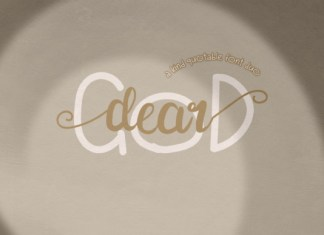 Dear God Duo Font