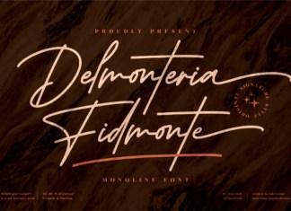 Delmonteria Fidmonte Font