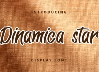 Dinamica Star Font