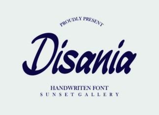 Disania Font