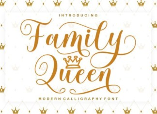 Family Queen Font